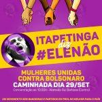 Carro de som é apreendido pela PM por divulgar ato #EleNão em Itapetinga