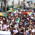 Multidão sai às ruas em Conquista no ato #EleNão