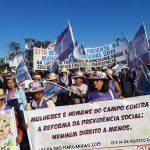 Cem mil mulheres na Marcha das Margaridas em Brasília