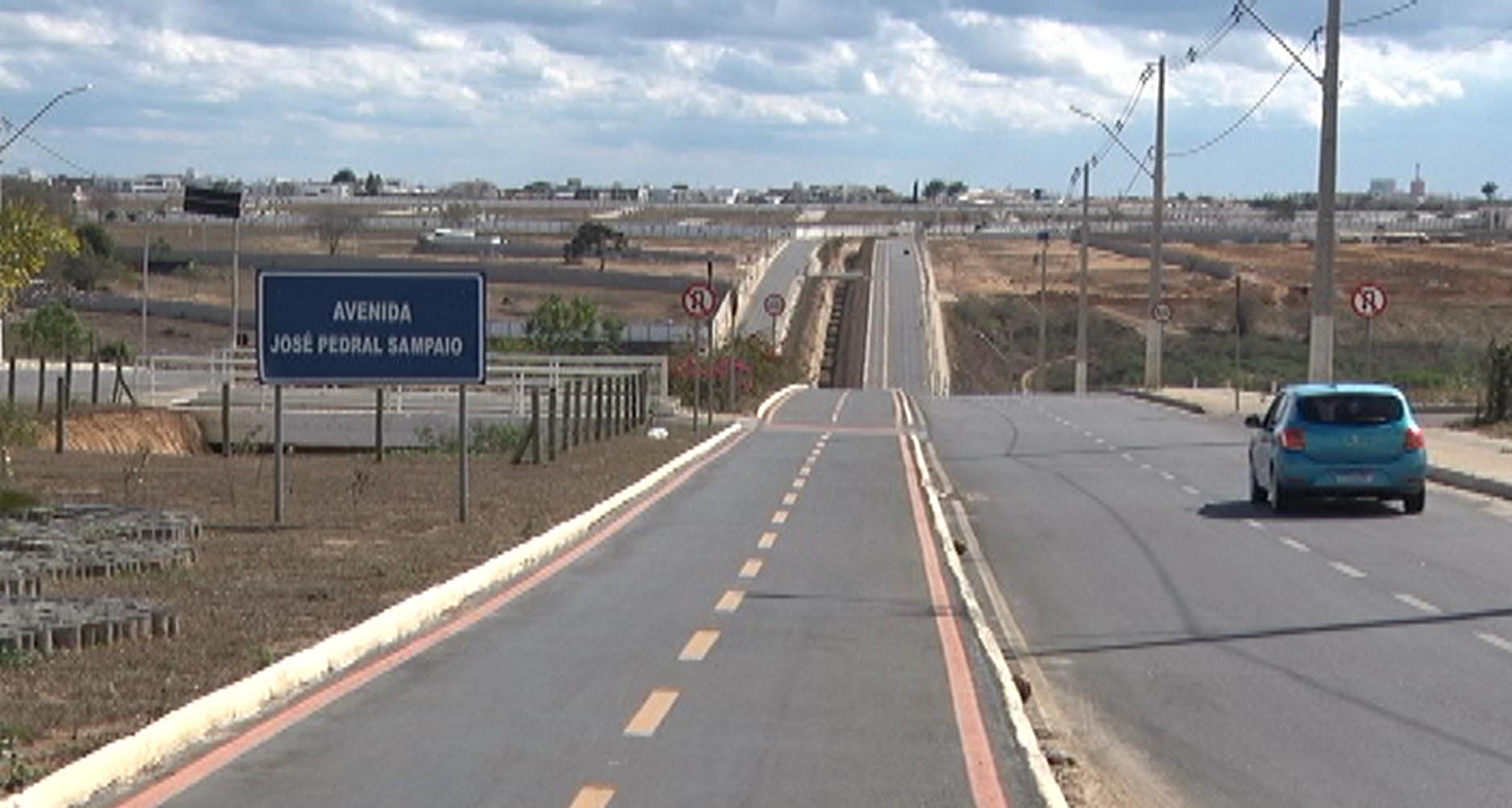 Avenida Perimetral em Conquista