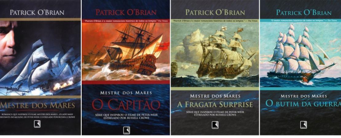 As aventuras literárias de Patrick O'Brian