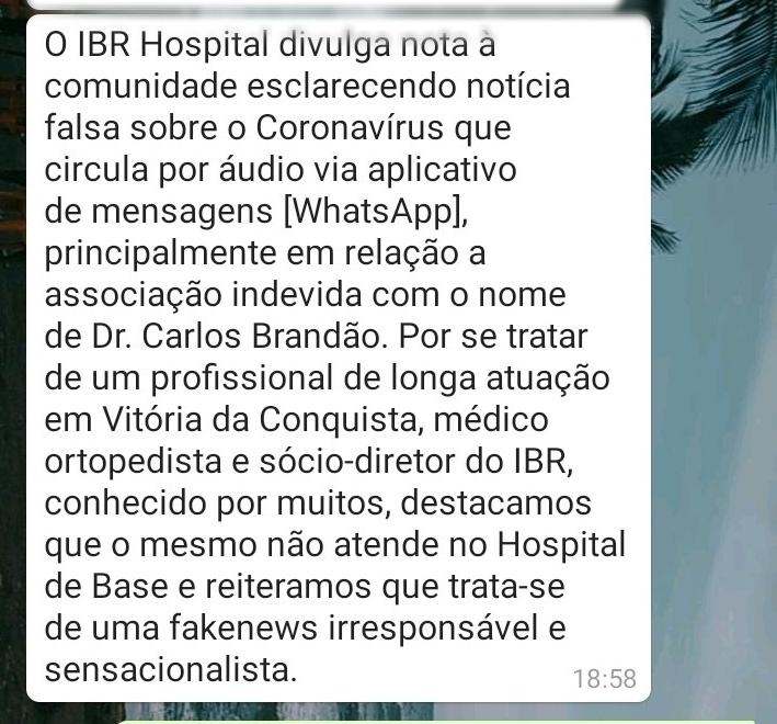 coronavírus em Conquista