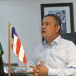 Rui Costa prorroga a volta às aulas e decreta toque de recolher em 44 cidades da Bahia