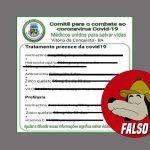 #FALSO| Não há comprovação científica de que Hidroxocloroquina e Ivermectina previnam a covid-19