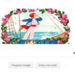 Jeanne Baret é homenageada com um Google Doodle