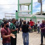 Ex-funcionários da Cidade Verde fazem dois dias de protesto contra a empresa