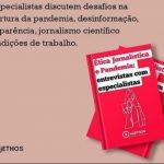 """objETHOS lança ebook grátis sobre """"Ética Jornalística e Pandemia: entrevistas com especialistas"""""""
