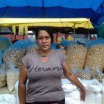 A empreendedora da feira do Bairro Brasil