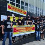 Funcionários do Banco do Brasil paralisaram as atividades em Conquista nesta quarta-feira (10)