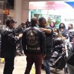 Motoclubes de Conquista realizam protesto contra o aumento do preço da gasolina