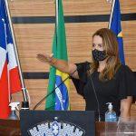 Sheila Lemos toma posse como prefeita de Conquista nesta segunda-feira (22)