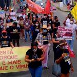 Moradores de Itapetinga voltam às ruas em protesto contra Bolsonaro neste sábado (19)