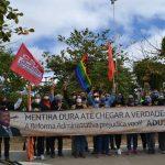 Contra reforma administrativa de Bolsonaro, servidores públicos realizam protesto em Conquista nesta quarta (18)