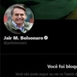 Abraji entra na Justiça para impedir Bolsonaro de bloquear jornalistas  no Twitter