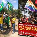 Atos contra e a favor ao presidente Bolsonaro marcam o feriado da Independência em Conquista