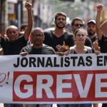 Profissionais da Rede TV estão em greve desde terça (31)