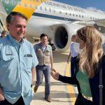 Bolsonaro passa por Conquista no caminho para assinar concessão da ferrovia em Tanhaçu